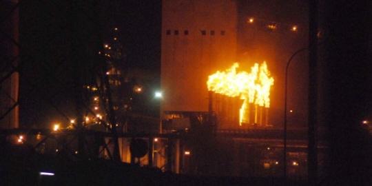 インドネシアのポスコの製鉄所