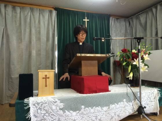朝鮮人による不法占拠地に在る「川崎戸手教会」の反日工作員の朝鮮人牧師・孫裕久