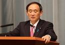 遺憾の意菅長官、習氏の南京事件発言に「非生産的だ」 中国に抗議