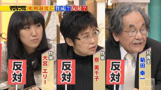 死刑反対の面々 2014年4月7日放送の「TVタックル」(テレビ朝日系)