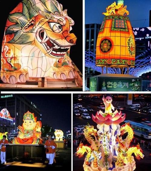『ねぶた祭り』だが、韓国では似たような祭りが『燃灯会』として開催されている。