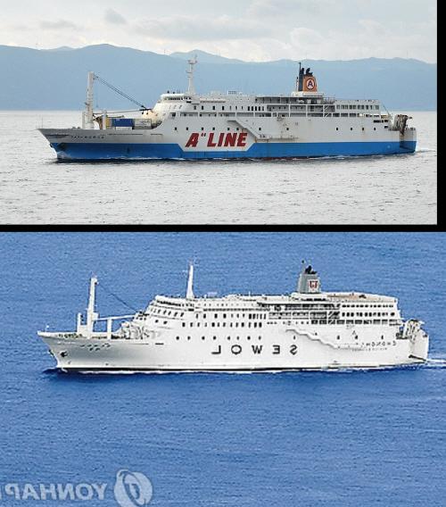 沈没した「セウォル号」は、1994年に日本で建造され、日本国内で2012年まで18年間運航した後、韓国企業が買い取り、定員を804人から921人に増やすように改造され