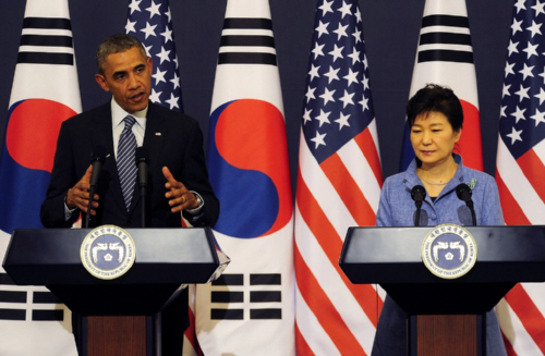 Obama In South Korea- Full Press Conference