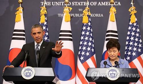 韓米首脳 対日姿勢で微妙な温度差=韓国は「誠意」強調