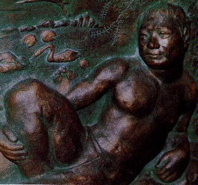 池田大作の裸像
