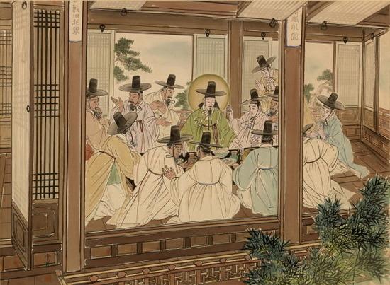 「最後の晩餐」 (ソウル美術館蔵、国宝指定)