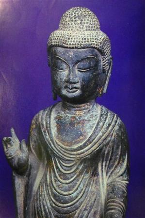 海神神社の「銅造如来立像」