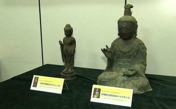 対馬盗難仏像、返還の訴え棄却