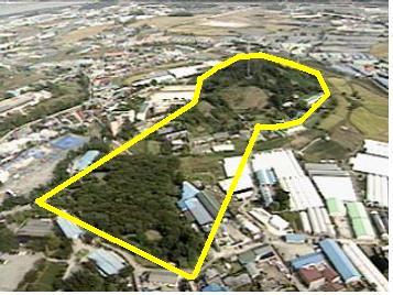 韓国のソウルで前方後円墳が発見、日本の支配地だった、掘削機で古墳を破壊