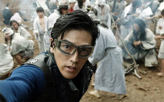 BKEDDU2CcAEOqCyNHKが「タイムスクープハンター」で日本の過去と韓国の過去の入替え工作