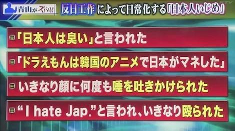アンカー 5月21日③ 青山繁晴「反日工作からくるアメリカでの日本人いじめの実態」