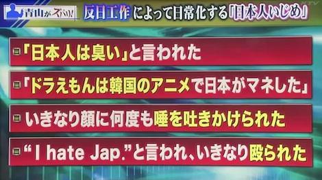 「反日工作によって日常化する『日本人いじめ』。アンカー 5月21日③ 青山繁晴「反日工作からくるアメリカでの日本人