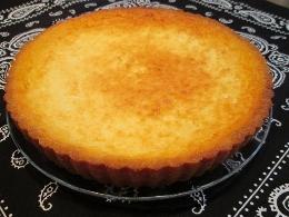 コーンフレークで作っタルトヨーグルトケーキ