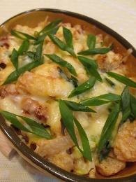 超簡単アゲちゃんとネギのチーズ焼き