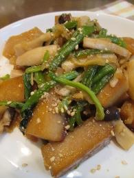 高野豆腐と切干の簡単炒め煮