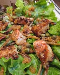赤魚とごぼうのサラダ