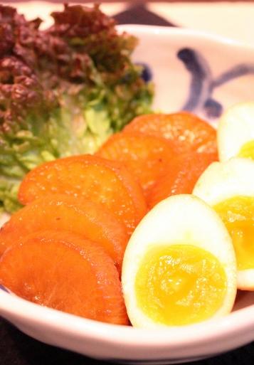 リメイク大根と卵の煮物