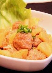 豚ミンチと大根の簡単煮