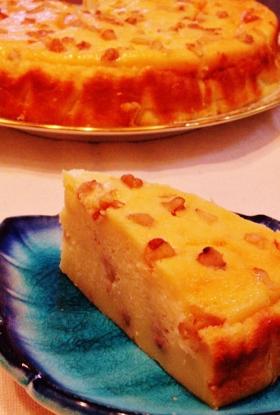 HMで♪カルピスマンゴーのクルミケーキ
