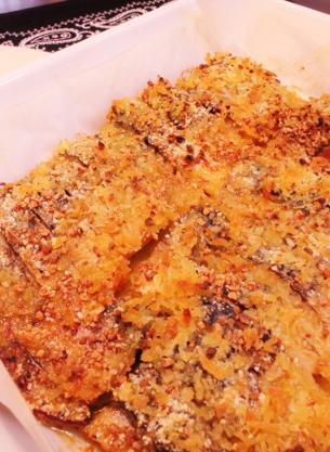 ❀塩サバのガーリックオーブン焼き❀
