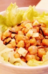 ビーンズ*ナッツ*チーズのシンプルサラダ (163x250)