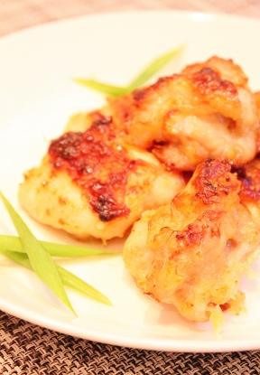 鶏もも肉の唐揚げ風☆ヘルシーグリル焼き (288x415)
