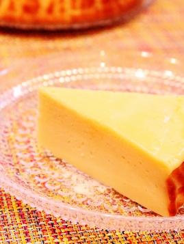 スライスチーズとヨーグルとの二層ケーキ (269x357)