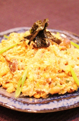豆腐納豆おかか炒め卵とじ (273x415)