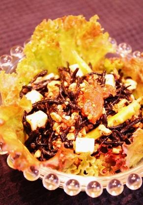 豆腐とひじきのバルサミコ炒め (291x415)