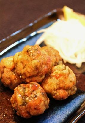 豚コマ肉の青のり唐揚げ甘辛がらめ (286x415)