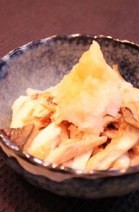 鯵の開きとエリンギ焼きおろしポン酢 (273x415)