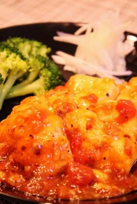 鶏むね肉の簡単トマトソース煮 (280x415)