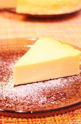 簡単♪ヨーグルトチーズケーキ (270x415)