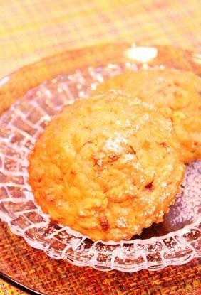 ホットケーキミックスで作るグラノラカップケーキ☆ブルーベリーver☆ (282x415)