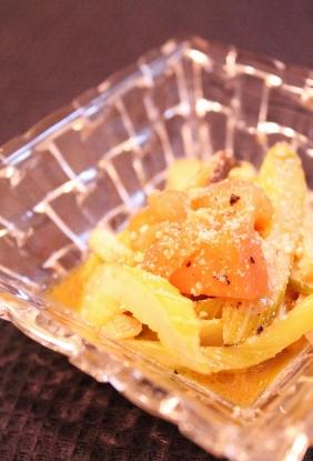 セロリとエリンギトマトのアンチョビ炒め (282x415)
