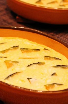 レンジで簡単☆豆腐とかぼちゃのフラン風 (276x417)