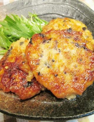 ☆混ぜて焼くだけ♪簡単豆腐の照り煮☆ (320x417)