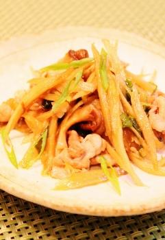 ごぼうと長ネギの炒め煮 (241x350)