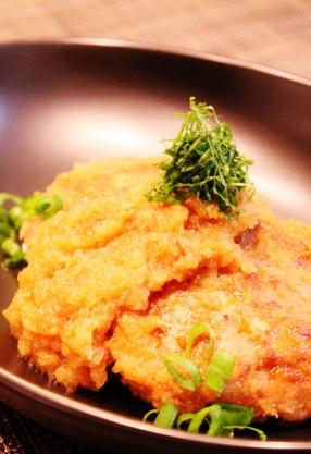 簡単❀長芋入りの和風ハンバーグ おろし煮 ❀(286x417)