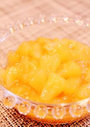 レンジで簡単♪リンゴの甘煮 (295x417)