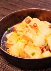 1006 厚揚げと白菜の味噌炒め (250x350)