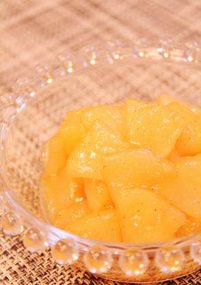 レンジで簡単☆リンゴの甘煮 (294x417)