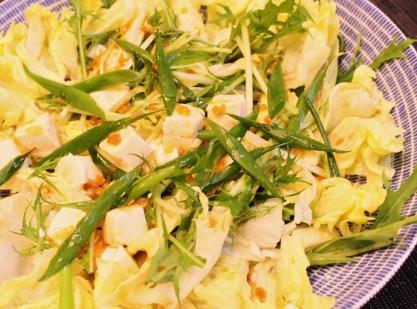 1013 半端野菜と豆腐のサラダ (417x309)