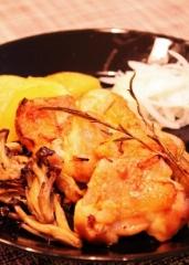 鶏もも肉の簡単グリル (295x415)