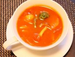 時短 冷凍野菜でミネストローネ (350x268)