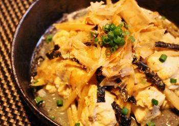雷豆腐*ごま油の香り (350x246)