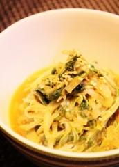 水菜と白ネギナムル風炒め (298x417)