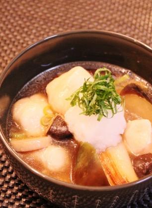 簡単❀つるりんささ身とトロ茄子長葱炒め煮 (306x417)