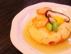 レンジで簡単♪豆腐と卵で擬製豆腐 (350x264)