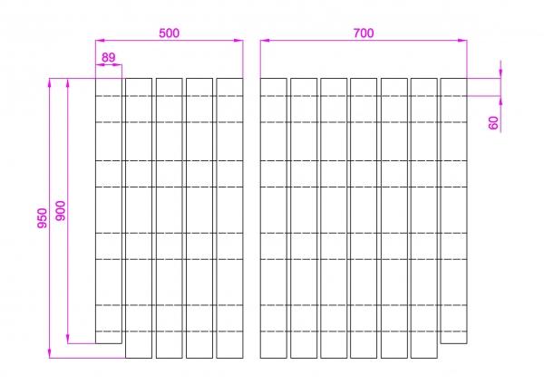 敷板設計図
